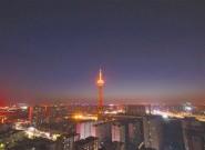 11地标建筑为中国春节亮灯 全球目光聚焦广州花市
