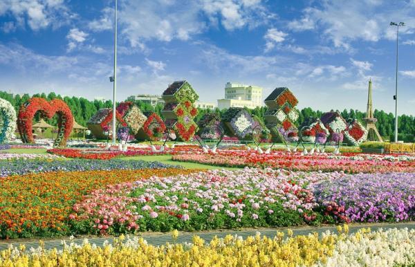 看看世界上最大的花园大成什么样