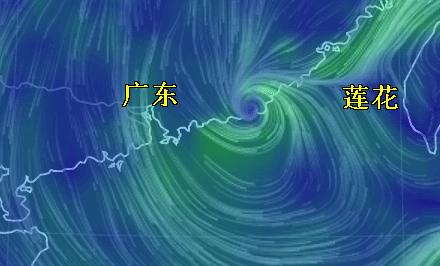 """台风""""莲花""""于12点15分在汕尾陆丰登陆"""