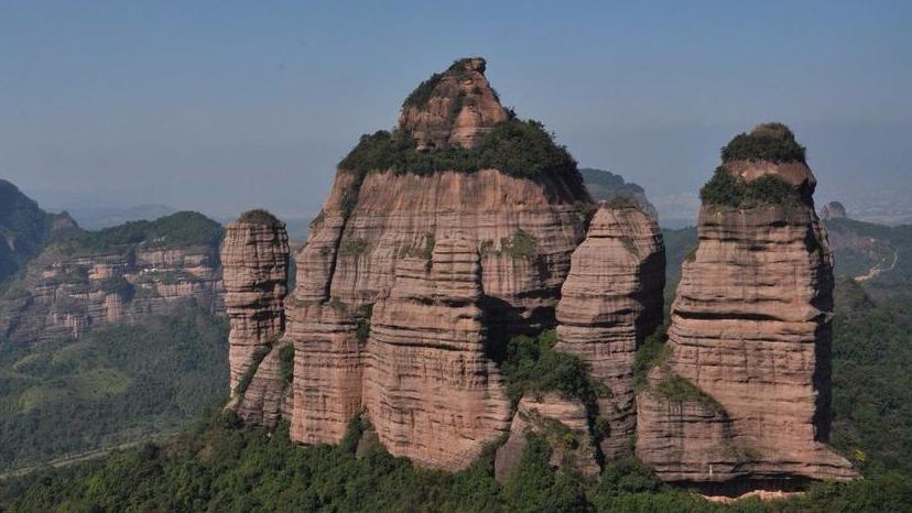 韶关举办户外寻找文化历史遗迹和景点活动