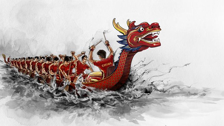 2016广州国际龙舟邀请赛15日开锣 126支队伍参赛和表演