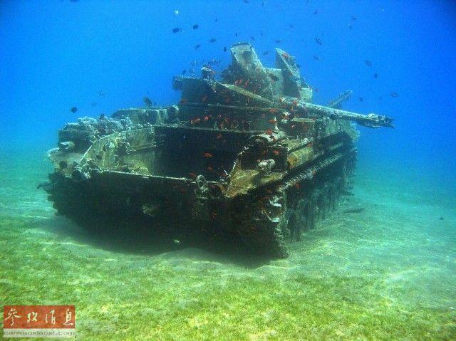 从沙漠到海底:无处不在的战争机器遗迹