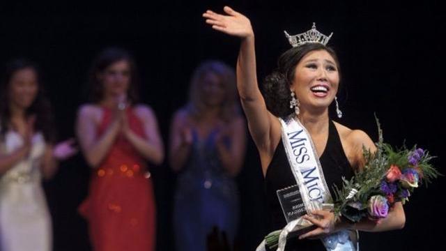 北京女生当选美国州小姐 网友惊呼审美辣眼睛