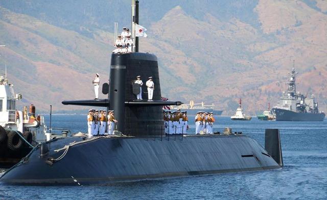 日本自卫队潜艇发生重大事故 鱼雷弹头掉落海中
