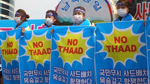 """韩媒称部署""""萨德""""损人不利己 封锁韩经济未来"""
