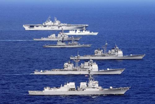 美媒:日本在环太期间受中方冷落 水兵登舰遭拒
