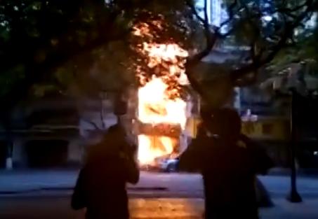 广州越秀沿江路陆小凤餐厅4个月两次起火