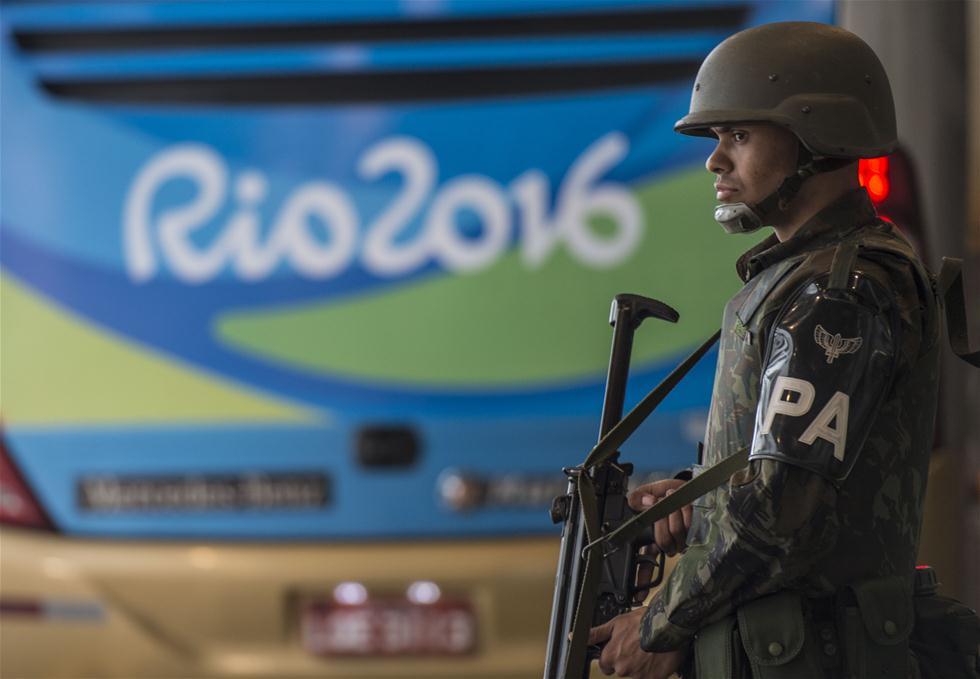 巴西加强安保迎奥运