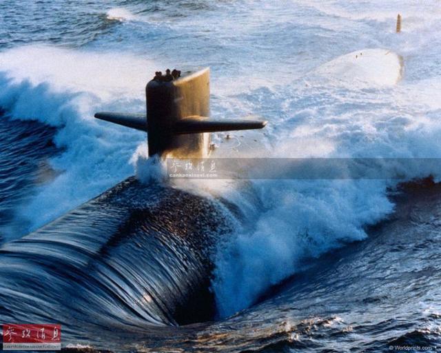 美军杀手核潜艇半小时灭敌200座城市