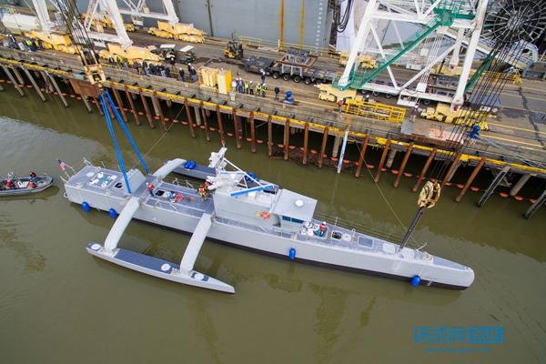 美无人驾驶反潜舰Sea Hunter已完成首次海上试验