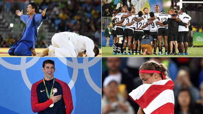 盘点半程奥运之突破