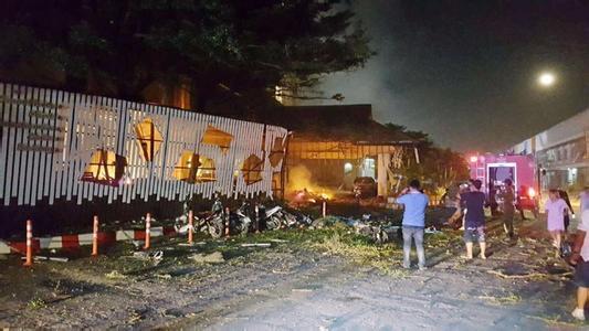 泰国南部发生两起爆炸袭击 致30多人死伤