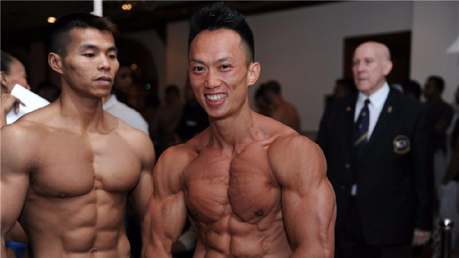 15名中国勇士征战ABBF亚洲健美锦标赛