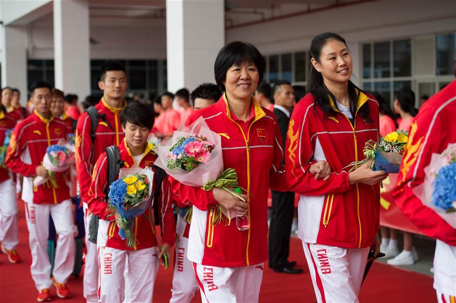澳门全城悦动喜迎国家奥运精英代表团