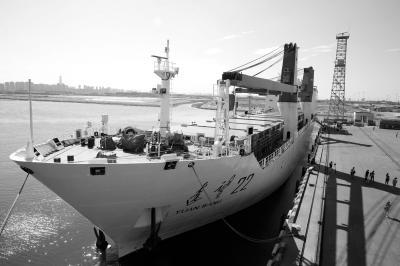 中国火箭运输船舶赴海南 长征五号首飞进入倒计时