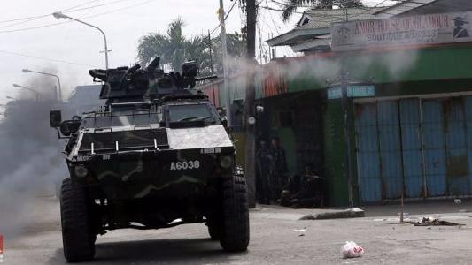 菲律宾政府军与反政府武装交火12名士兵阵亡