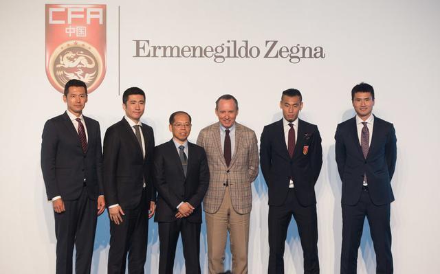 中国之队牵手著名服装品牌 为男足造全新形象