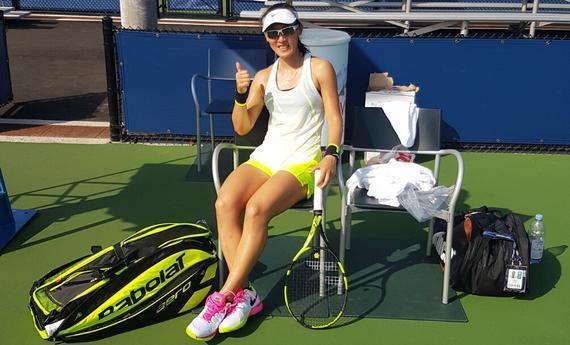 郑赛赛横扫里约奥运冠军 时隔两年再进美网次轮