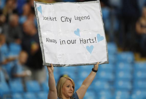 泪奔!曼城球迷恳求瓜帅留哈特:他是我们的心