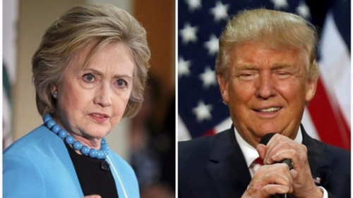 特朗普与希拉里将进行首场电视辩论 引外界关注