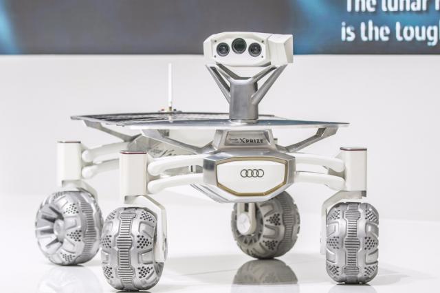 奥迪月球车,拟定在2017年发射!