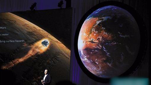 马斯克欲招募100万人移民火星:要做好准备死亡