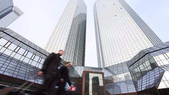 德意志银行危机不断 救或不救让德国政府很是为难