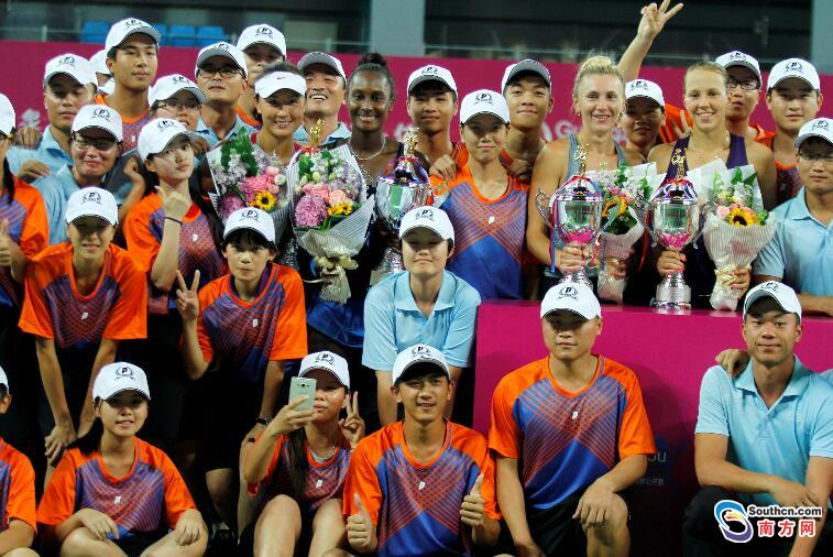 2016广州国际女子网球公开赛落幕 产生第13位单打冠军