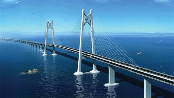 中国造桥技术最高体现:港珠澳大桥主体贯通