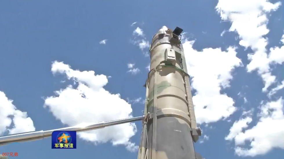 央视曝光东风21导弹发射全程