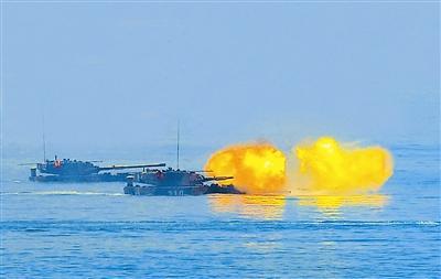 两栖部队福建红蓝对抗海训:战场上考验岂止风浪