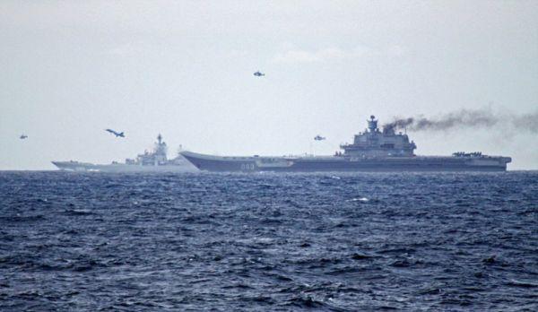 俄唯一航母出征中东一路喷黑烟 被嘲笑是