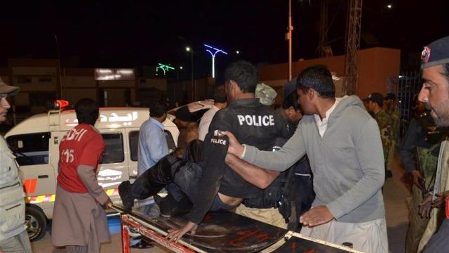 巴基斯坦警察学校遇袭48人身亡 200余名人质被劫持