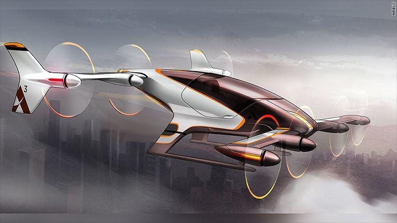 空客飞行的士概念图曝光 2020年之前销售