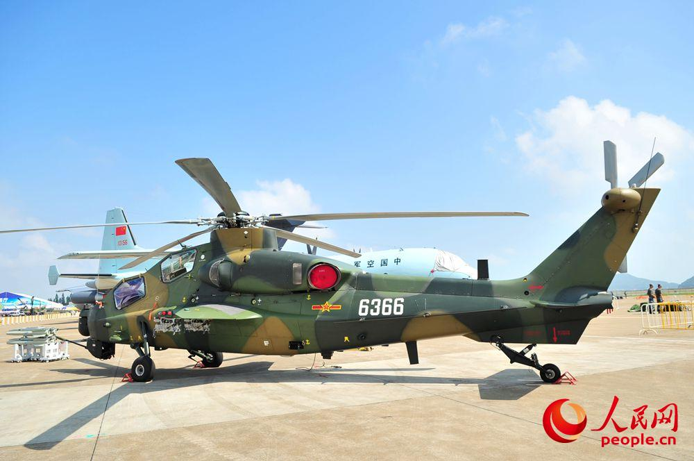 """中国空军直-10K""""霹雳火""""首次公开曝光"""
