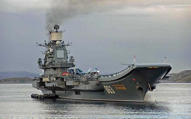 西班牙迫于北约压力 拒绝俄罗斯航母战斗群靠港
