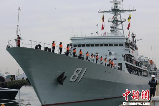 郑和舰执行远航实习任务 并出访印尼、澳、新