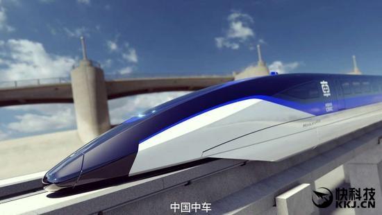 时速600公里!中国高速磁悬浮列车来了:酷炫
