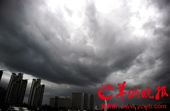 广州连遇台风