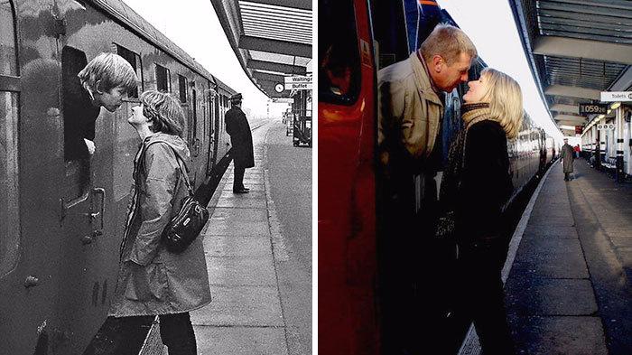 """摄影师40前拍路人 与路人40年后""""重聚"""""""