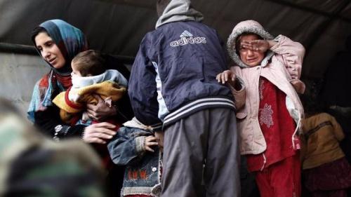 摩苏尔战火蹂躏百姓 50万人面临灾难性缺水危机