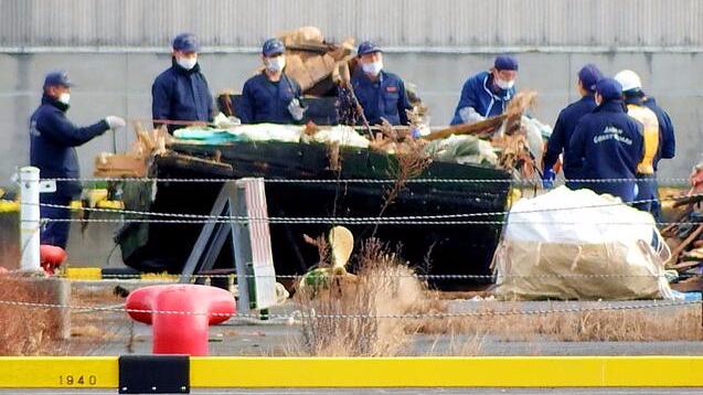 日本京都海岸发现疑从朝鲜漂来木船 内有8人尸骨