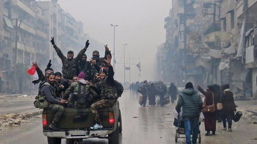 叙政府军:阿勒颇已完全解放 将和平归还该市