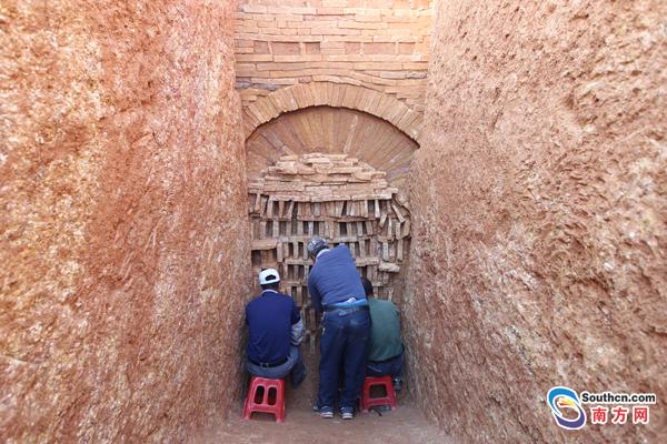 广州现25座六朝时期古墓 跨时3千年