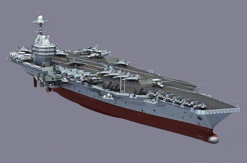 美媒称2030年中国将拥有超级航母 隐形战机上舰