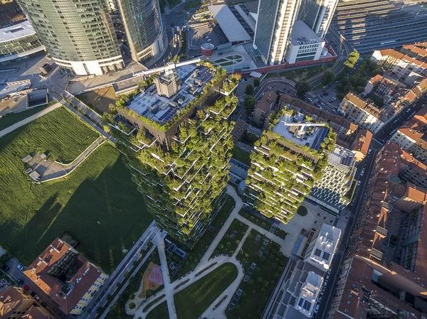 """楼顶阳台外立面布满植物,南京在造一座""""未来的建筑"""""""