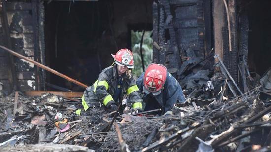 美国巴尔的摩民宅起火 6名儿童葬身火海4人重伤