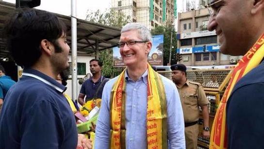 莫迪考虑给苹果免税 吸引iPhone印度制造