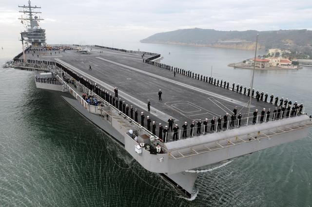 专家:美或造12艘福特级航母 中国能借鉴什么?