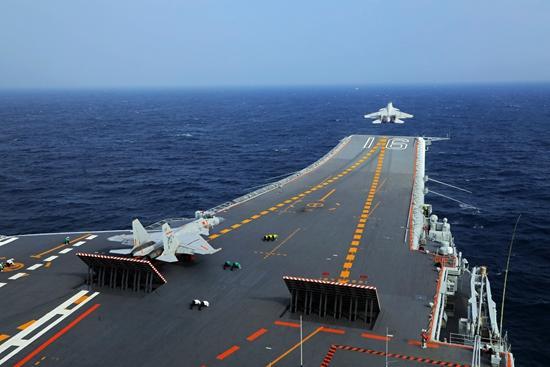 辽宁舰的新进步:创造诸多第一 处置故障能力增强